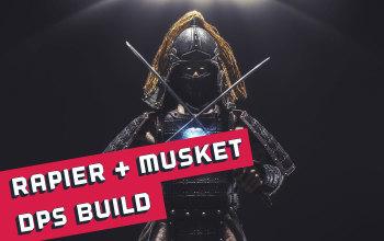 New World Rapier/Musket DPS Build