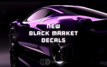 New Black Market Decals showcase - Fire God, Dissolver and more