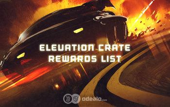New Elevation Crate Rewards list - Newest Rocket League Items