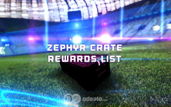 New Zephyr Crate Rewards list - Newest Rocket League Items