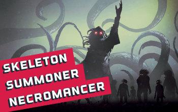 Skeleton Summoner Necromancer Build for Last Epoch