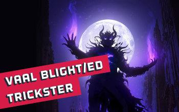 Vaal Blight/Essence Drain CI Trickster build