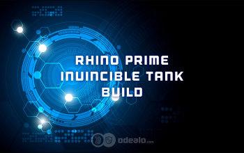 The invincible Rhino Prime Tank solo Build - Odealo