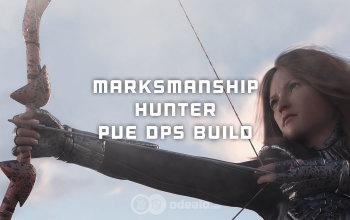 The Best Marksmanship Hunter PvE DPS build