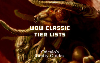 WoW Classic DPS, Leveling, Classes, Professions Tier Lists