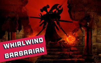 Whirlwind Barbarian Build for PD2