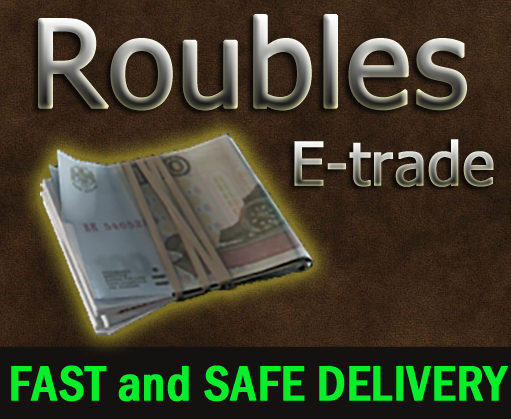 6 mil Roubles f2f ( 6 000 000 rubles )  / Delivery face to face + free sicc case