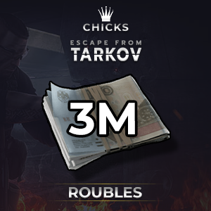 3M Roubles We bear the cost [No need to be lvl 10 & have FIR item-s] [FAST DELIVERY]