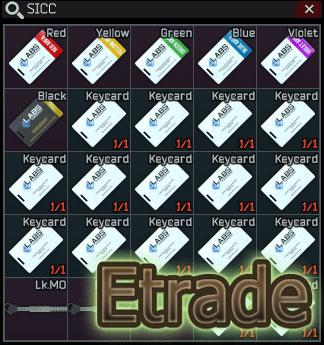 Lab. full keys set / 3 keys + 7 keycards + sicc case  + 15 Access cards