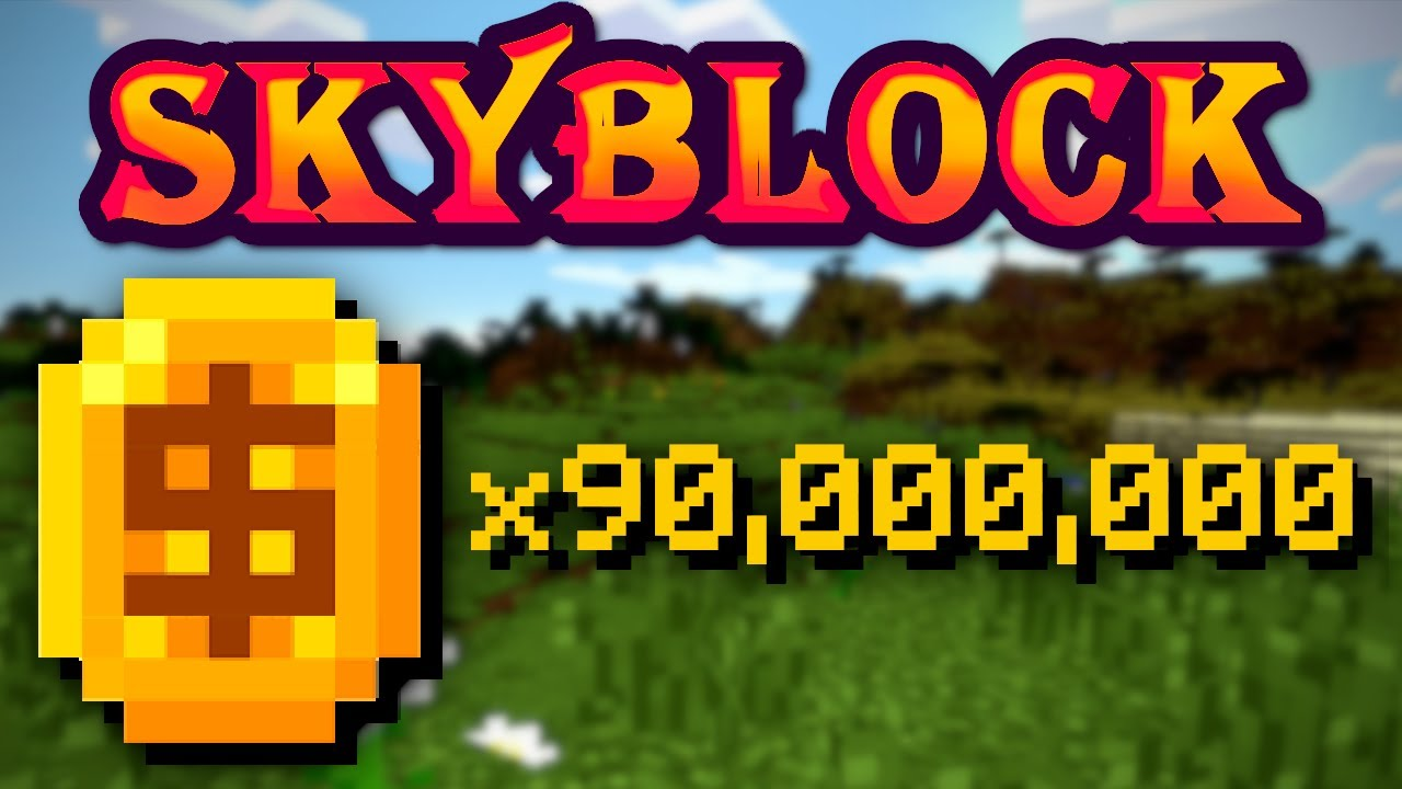 [Minecraft Hypixel Skyblock] SELLING COINS CHEAP 0.55/m 0.5/m 0.45 CHECK DESC