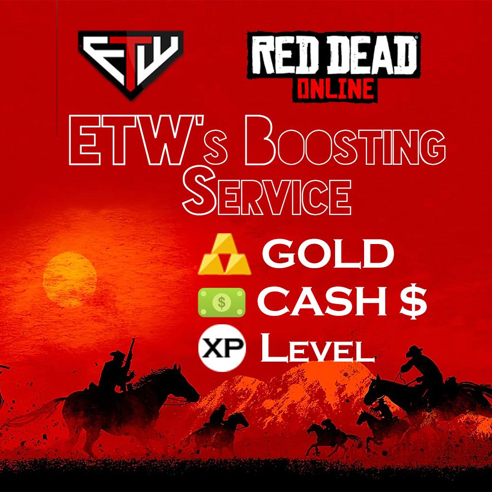 Red Dead Online BOOSTING [Money/Cash$]