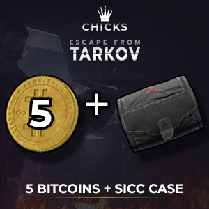 5 Bitcoins + SICC case [FAST DELIVERY]