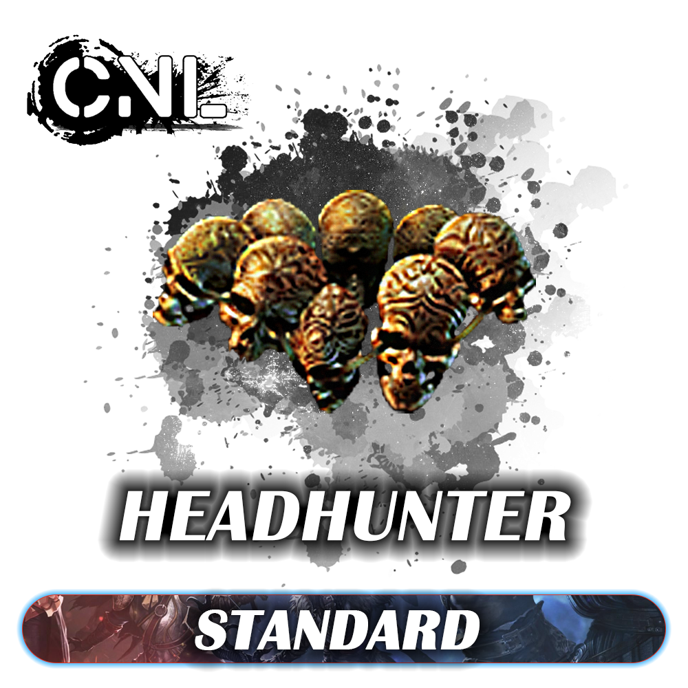 [STD] Headhunter Leather Belt - non corrupted