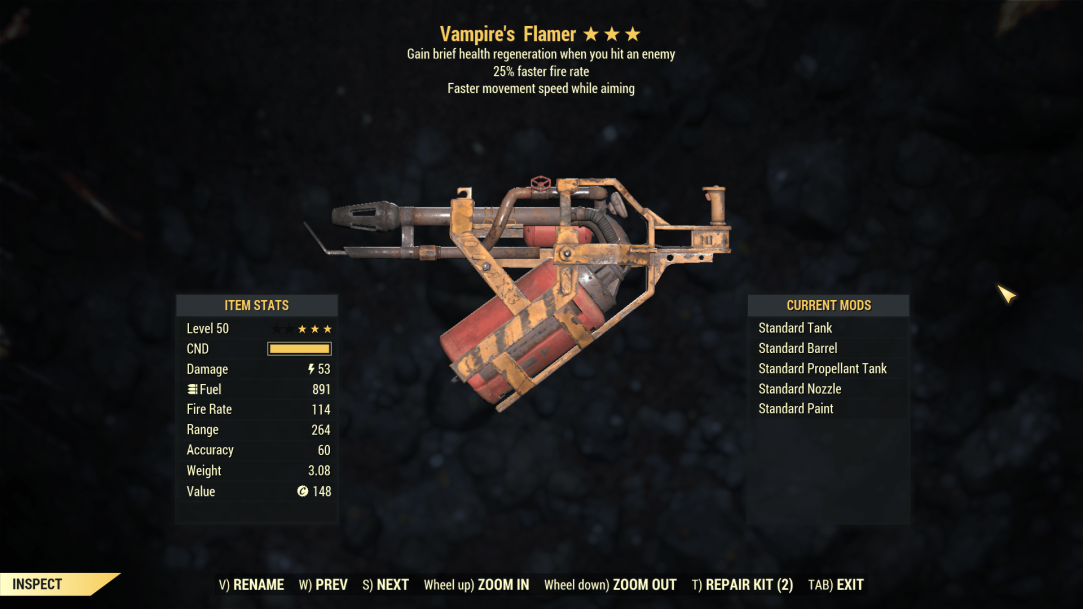 ★★★ Vampires Flamer[25% Faster Fire Rate] | FAST DELIVERY |