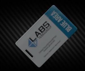 Lab blue keycard [12.11]