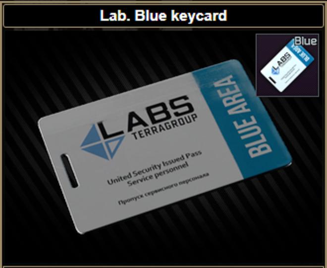 ★ ❤️【Lab. Blue keycard】❤️ ★