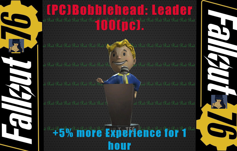 (PC)Bobblehead: Leader (100pc) +5% Exp