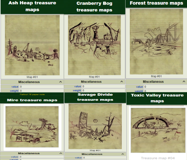 (PC) Treasure maps (choice of 1k)