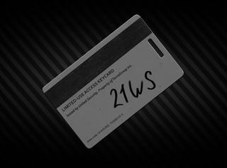 Object #21WS keycard (via Raid)