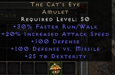 The Cat's Eye Amulet