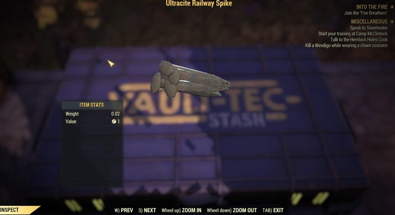 Ultracite Railway Spike x1000