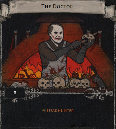 [STD, not league] The doctor - divination card for headhunter // instant delivery!
