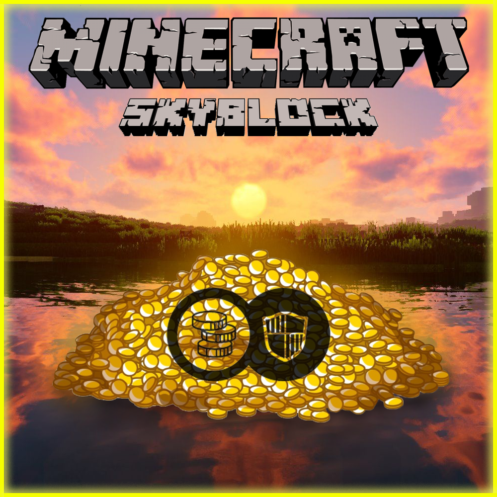 Hypixel Skyblock Purse(Coins) 10m=2.2$, Fast Delivery(Non Duped Coins)