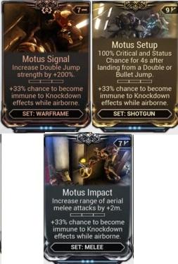 (PC) Motus mod set (signal, setup, impact) // Instant delivery
