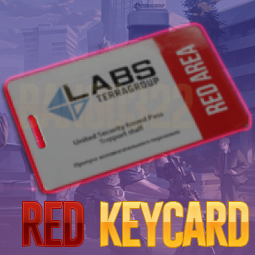 Lab. Red keycard ⭕ / Red card / Red key card / Red lab key | Instant delivery