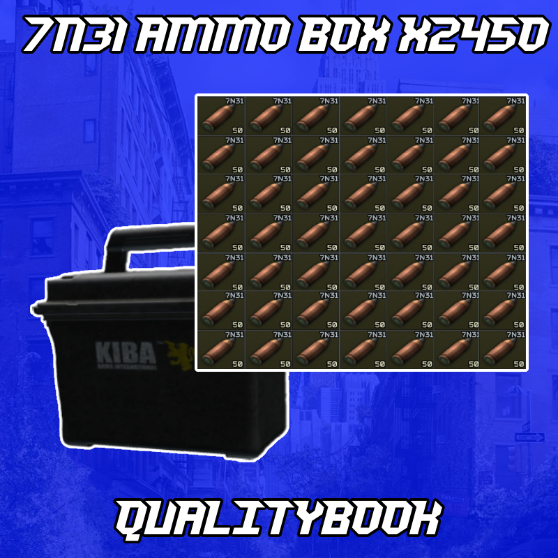 ⚜️Full ammo case with 7N31⚜️12.11