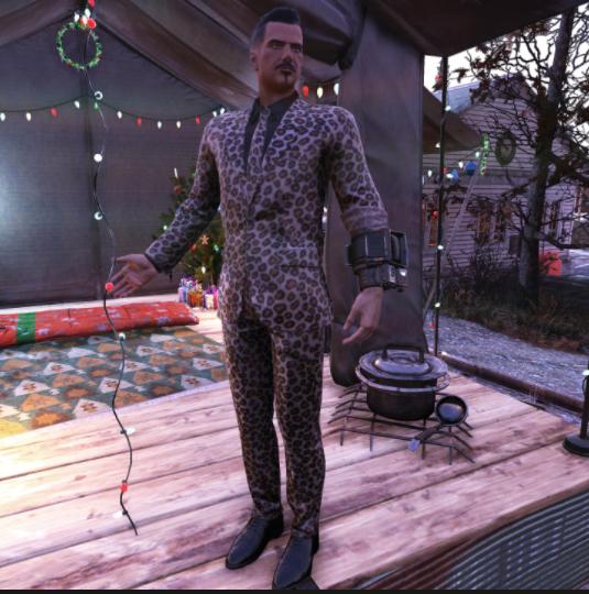Jaguar Pant Suit [Outfit]