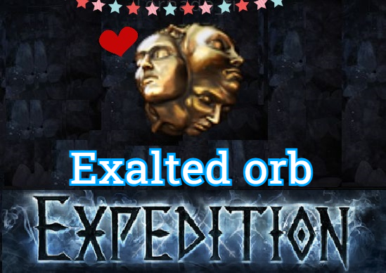 ✅ [PC] Exalted Orb ★ Expedition SC ★ Instant (Feedbacks 7000+)