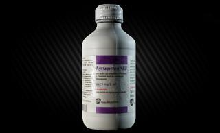 Meds Case + 49 Augmentin Antibiotic Pills