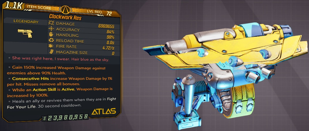 ★★★[PC/XB] M10/L72 - RES 6.969.655 DMG - INFINITE AMMO/NO RELOAD - 4.72 FIRE RATE - ANOINTED x3★★