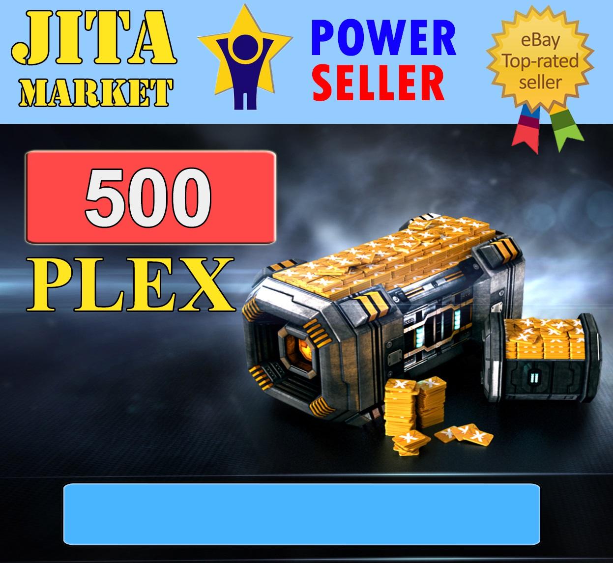 = 500 PLEX = / JitaMarket Eve Online PLEX /  Extremely Fast //Maximum Safe = MINIMUM ORDER 2500PLEX
