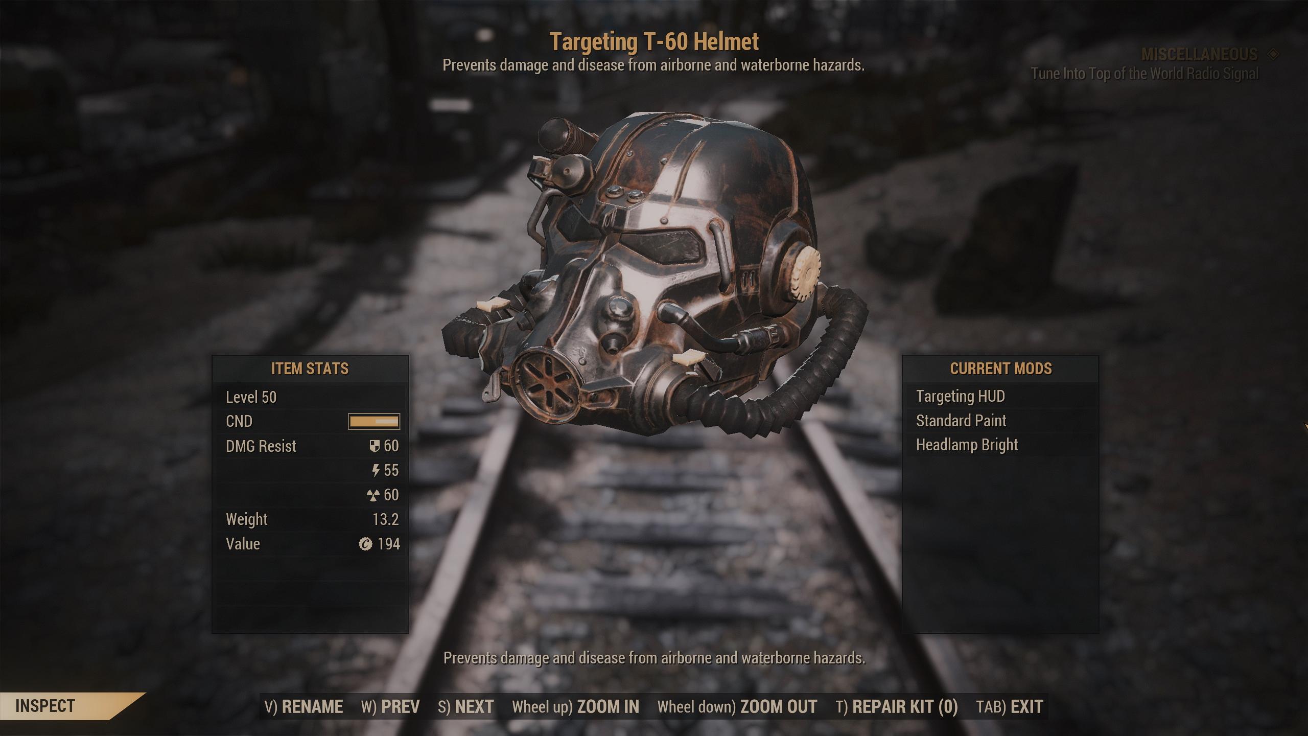 [PC] T-60 Unyielding Sentinel PA