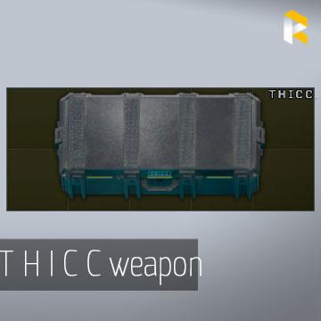 T H I C C weapon case (via FLEA)