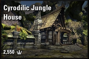 [PC-Europe] cyrodilic jungle house furnished (3200 crowns) // Fast delivery!