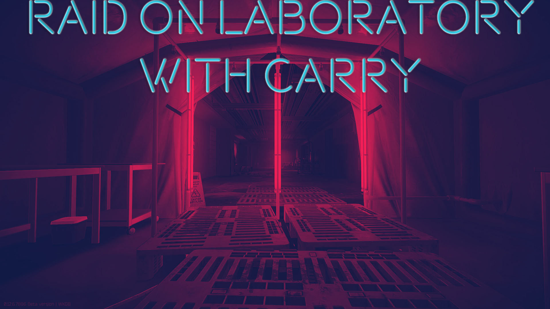 RAID ON A LABORATORY WITH A CARRY (FAST AND SAFE FOR YOU)