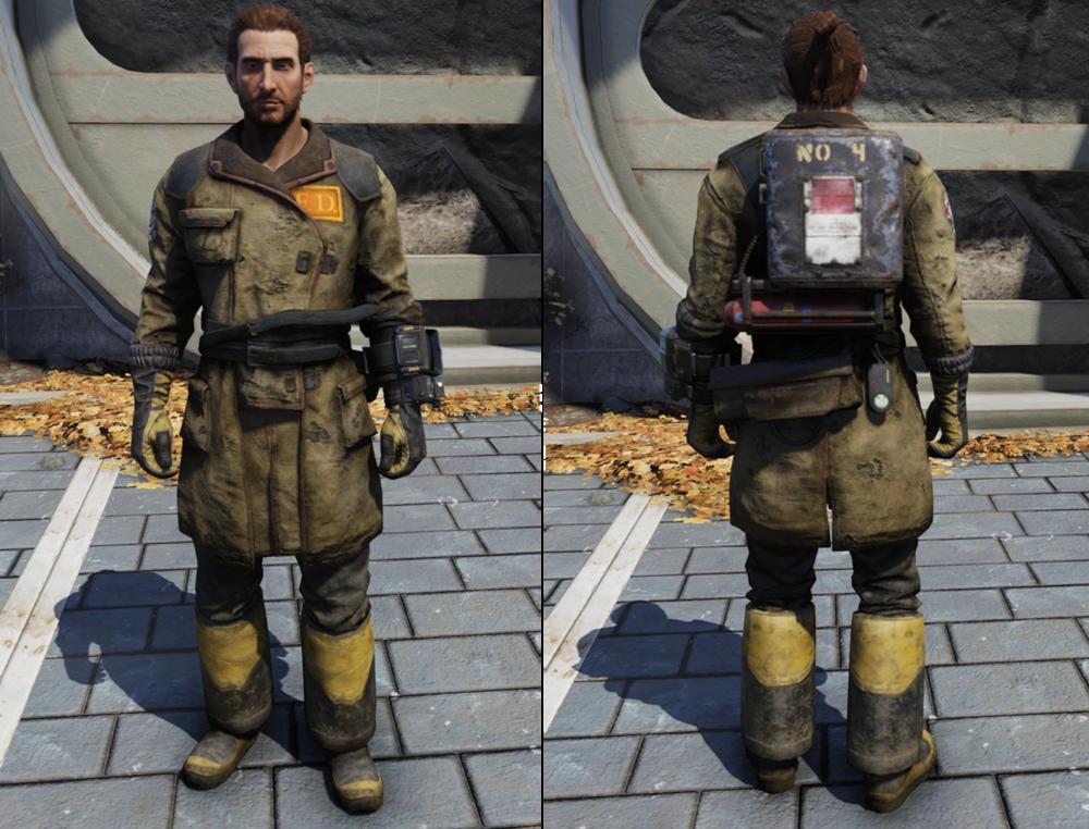 Fireman Uniform [Outfit]