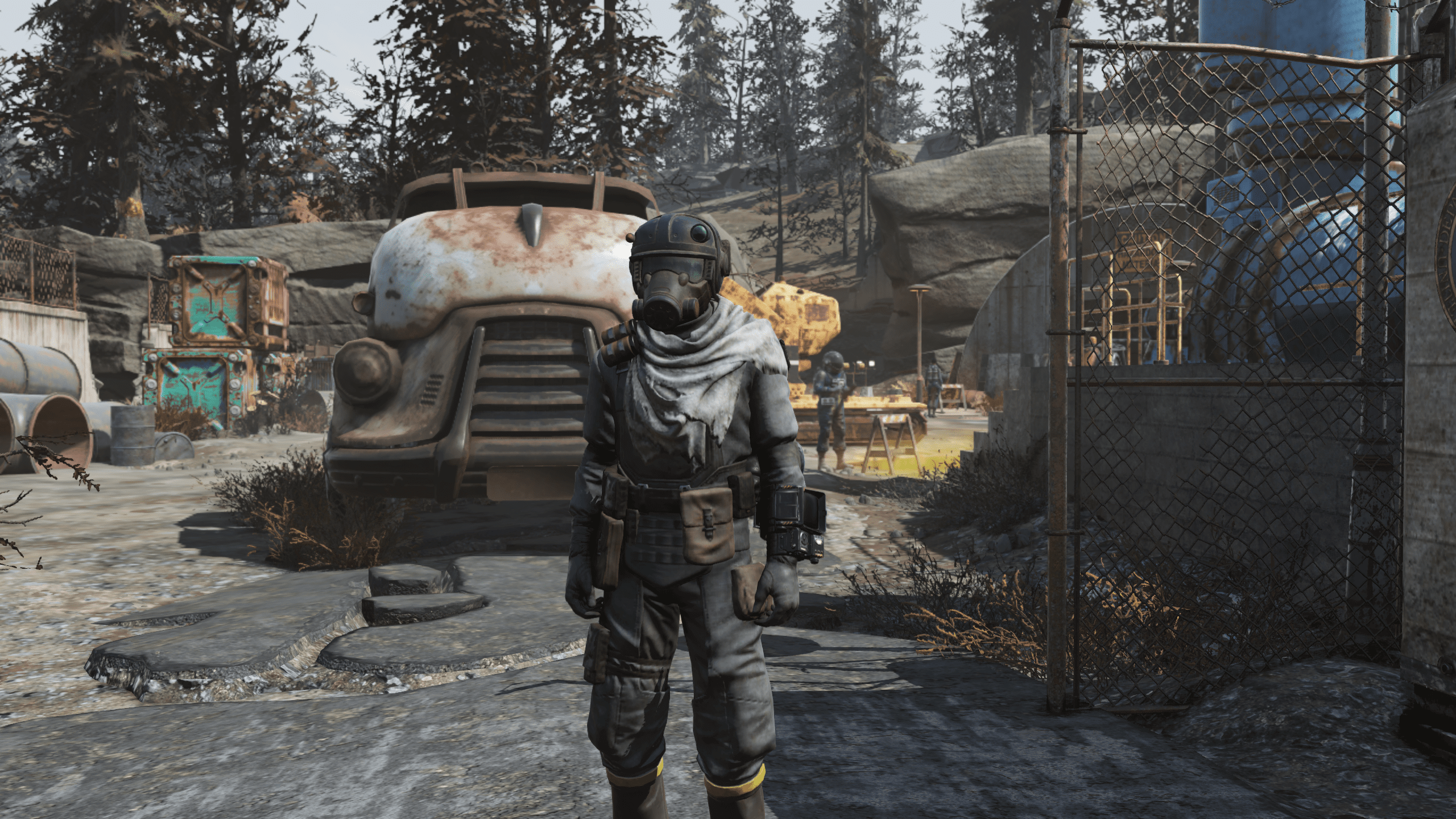 [Wastelanders] Insurgent Outfit + Marine Armor Helmet | LIMITED TIME EVENT REWARDS | FAST DELIVERY |
