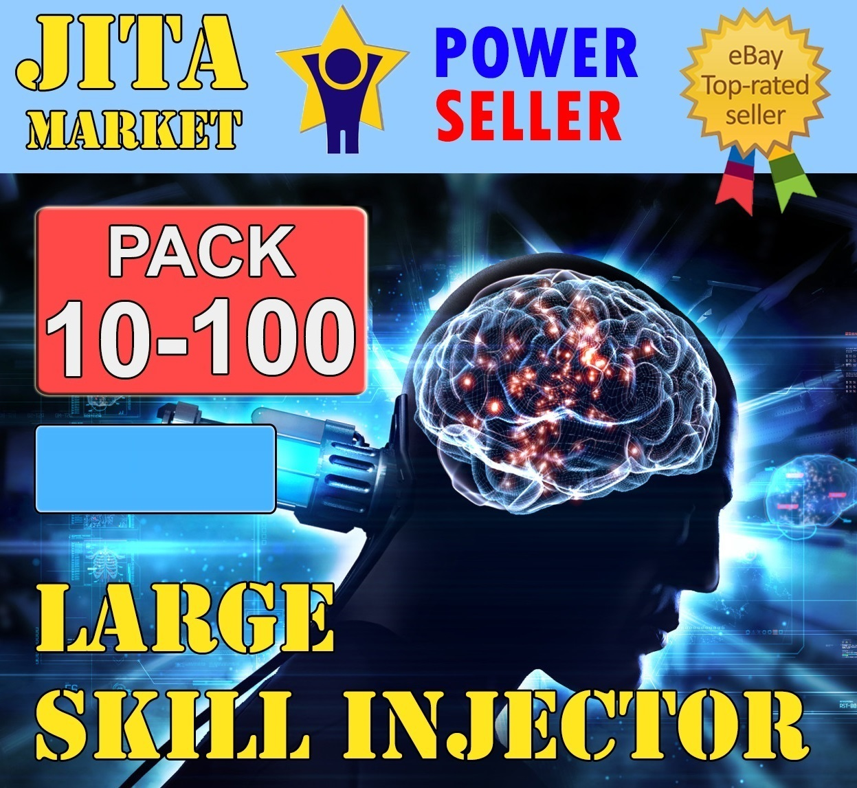 JitaMarket = Large Skill Injector = Minimum Order x10 = Extremely Fast = Maximum Safe =