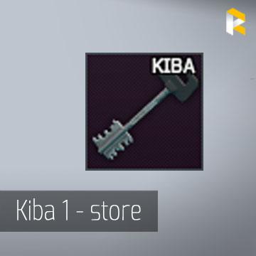Key to KIBA store outlet (via Raid)