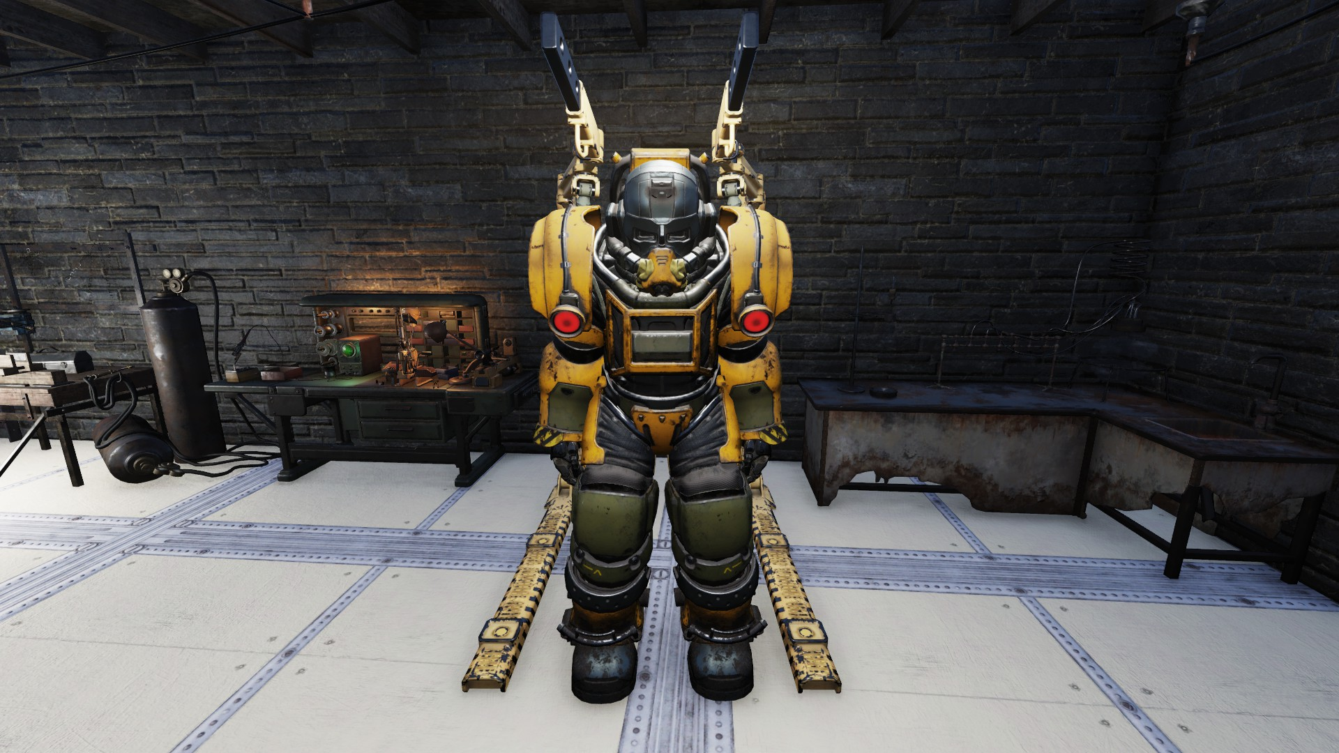 Excavator Power Armor Full Set 25/35/45 Mods Included Are In Description