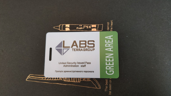 ❗❗❗ [GREEN] Lab. Green keycard! / Green card / Green Keycard ♻️ Fast Delivery♻️❗❗❗