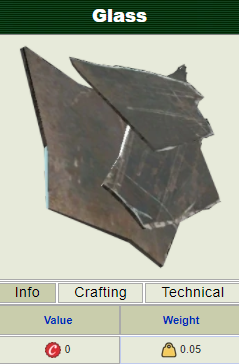 (PC) Glass shards [1000 pieces]