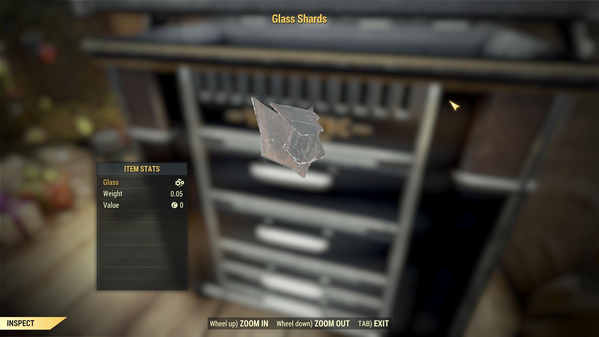 Glass Shards x1000
