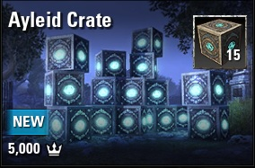 [NA - PC] ayleid crate X 15 (5000 crowns) // Fast delivery!