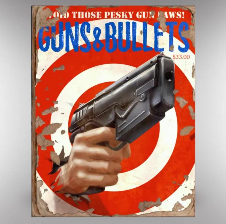 Guns & Bullets 5 [x10]
