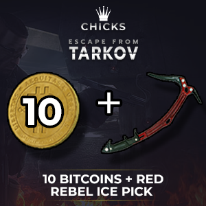 10 Bitcoins + Red Rebel Ice pick [FAST DELIVERY]